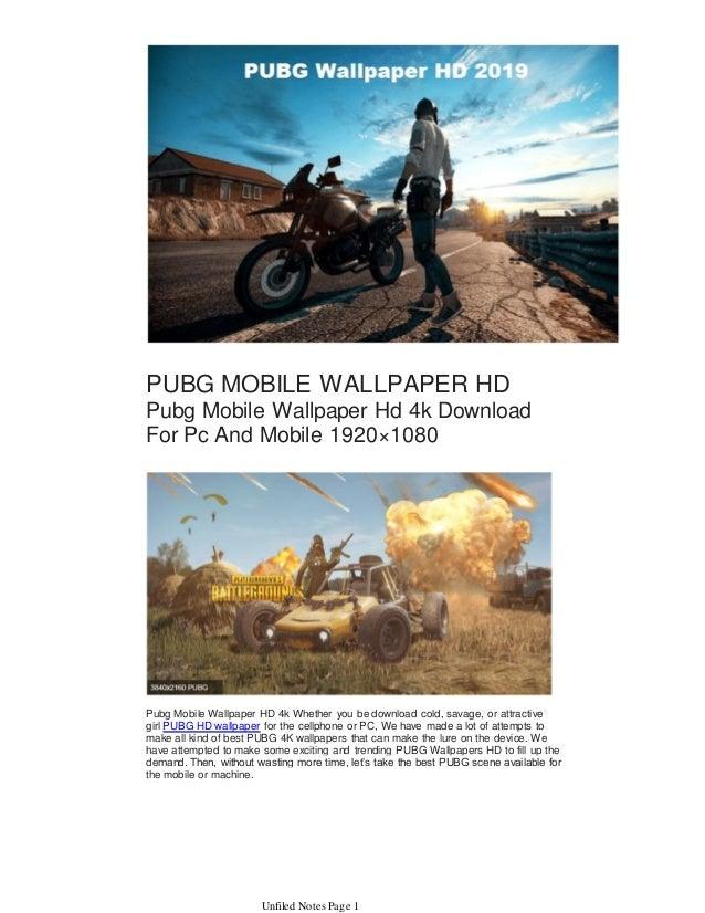 Pubg Mobile Wallpaper