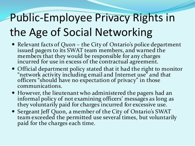 is employer monitoring of employee social media justified? essay Employee monitoring refers to keeping eyes on the employees through latest technological devices so that their internet use and other activities like calls and text messages can be monitored generally this is done as most of the organizations and companies have their policies to monitor their.