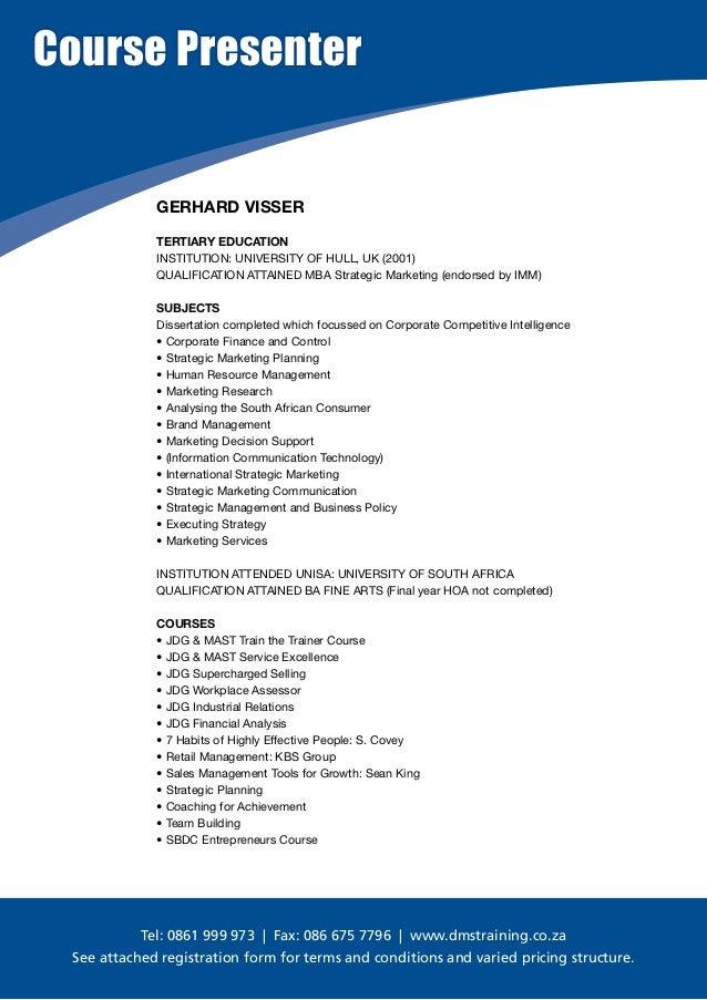 course outline promotion management Health promotion (postgraduate certificate) workplace wellness course outline health promotion human resources management.