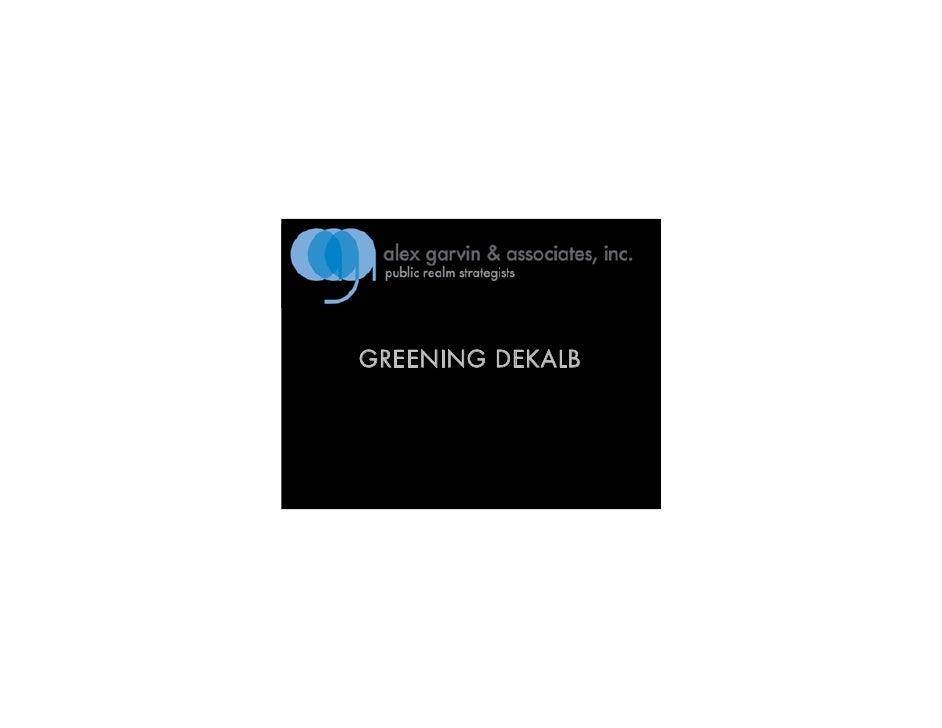 GREENING DEKALB