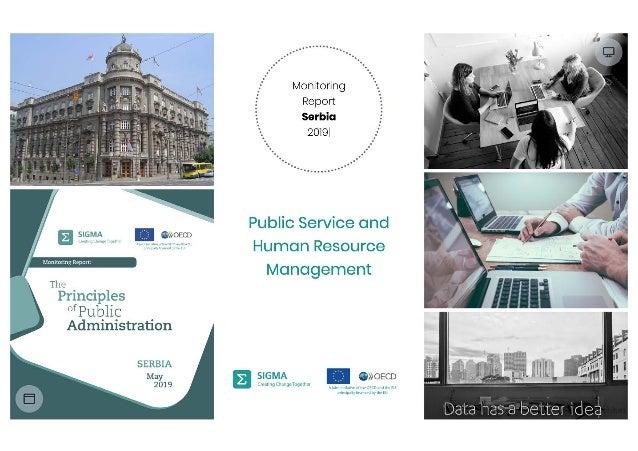 Public service and human resource management, Annika Uudelepp, 2019 SIGMA monitoring report dissemination event, Belgrade,...