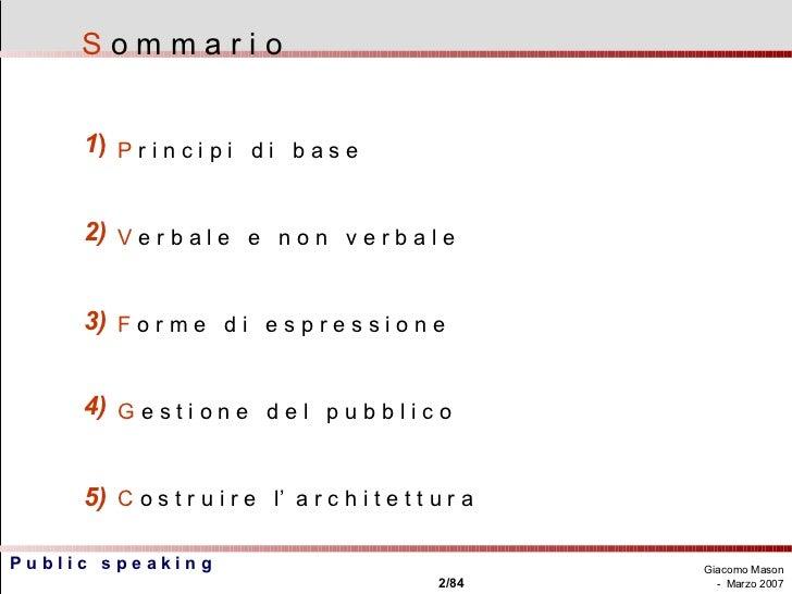 Public speaking Slide 2