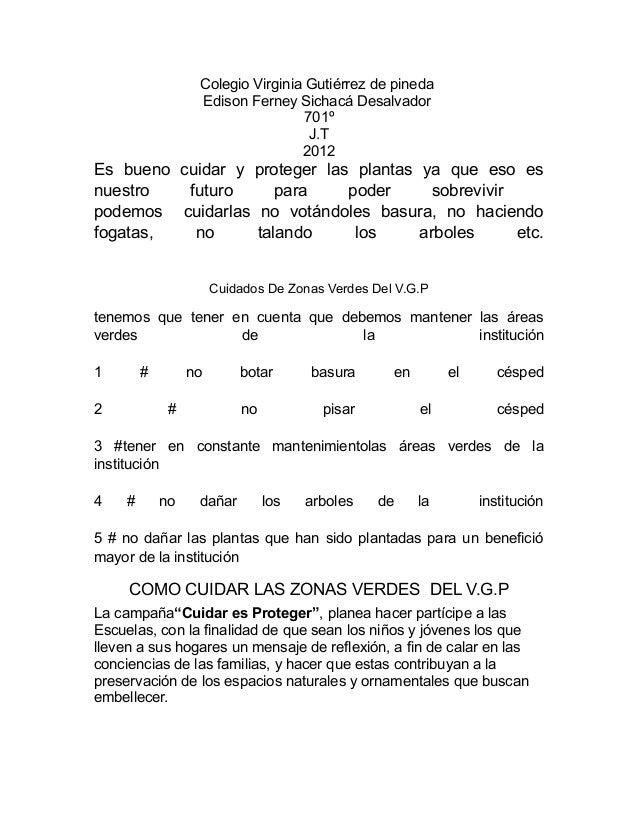 Colegio Virginia Gutiérrez de pineda                   Edison Ferney Sichacá Desalvador                                   ...