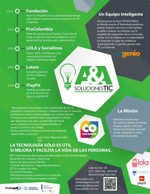 LolaAgencia de Publicidad & Marketing Fedesoft