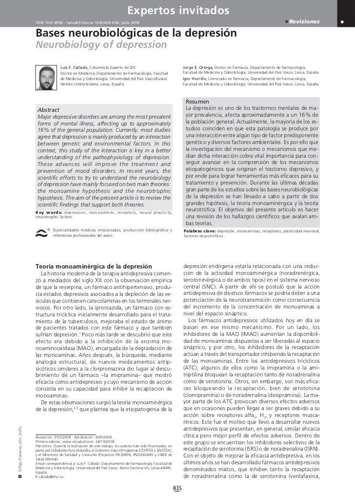 Expertos invitados                       ISSN 1667-8982 - Salud(i)Ciencia 16(8):835-838, julio 2009                       ...