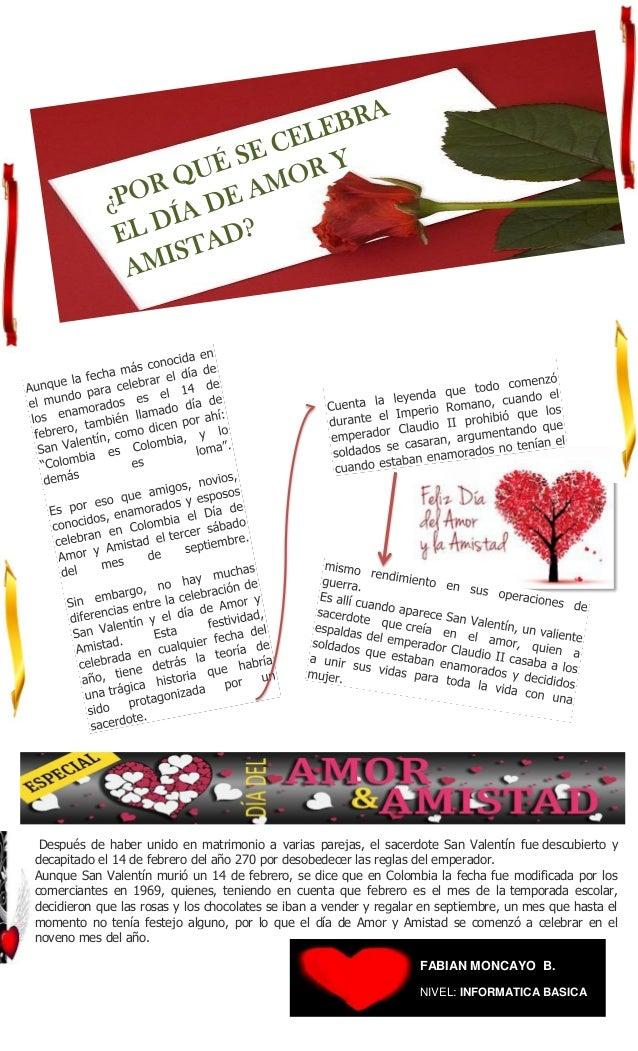 Publicacion Amor Y Amistad