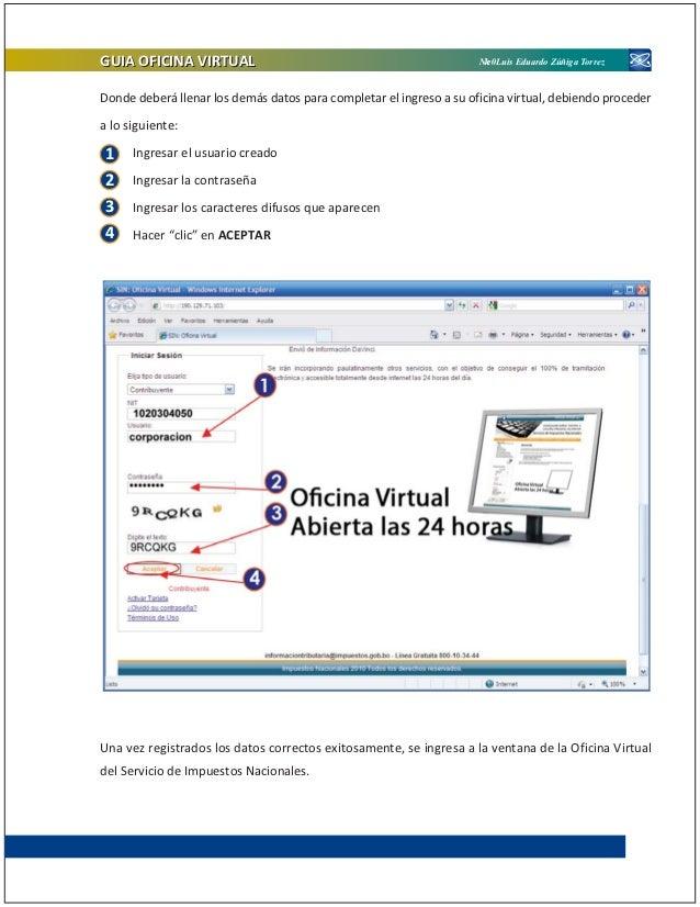 Publicacion oficina virtual version 2011 for Su oficina virtual