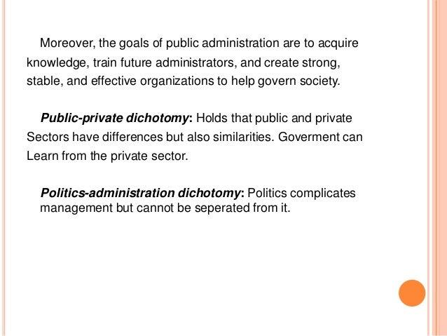 public private dichotomy