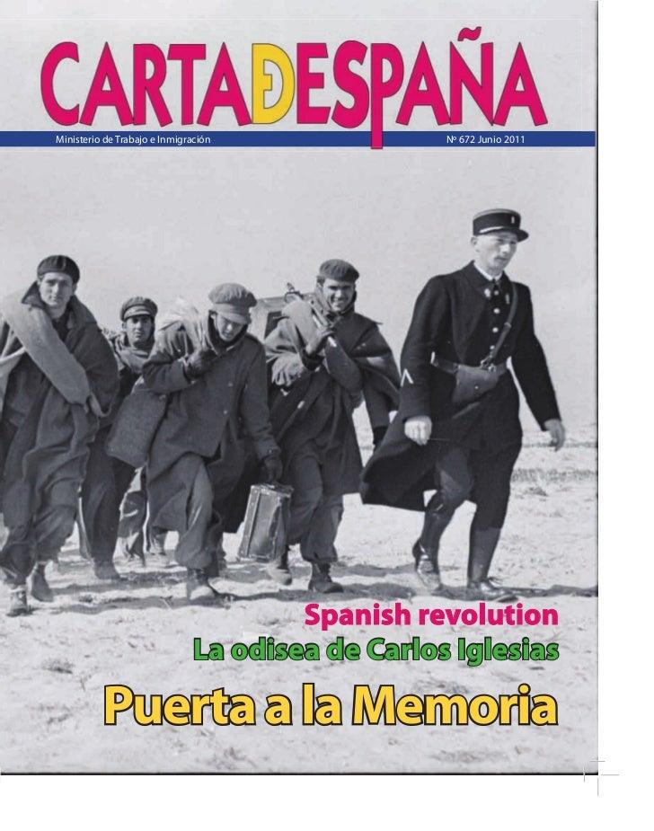 Ministerio de Trabajo e Inmigración               Nº 672 Junio 2011                                       Spanish revoluti...