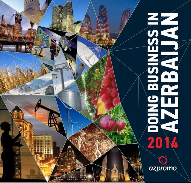 DOING BUSINESS IN  AZERBAIJAN  2014
