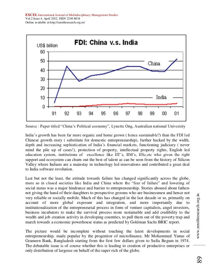 essay on growth of entrepreneurship in india
