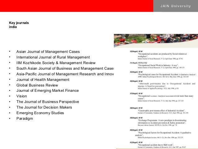 asian case research journal The asian journal of research in social sciences and humanities is an on line international journal with the mission of providing  research papers and case studies.