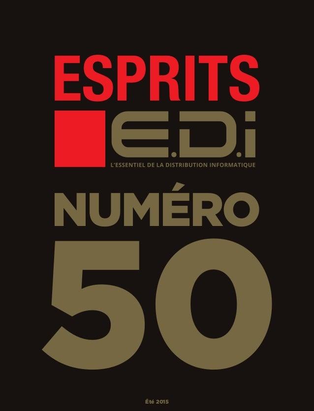 NUMÉRO 50Été 2015 EDI_50_Surcover_50_230x300.indd 1 01/07/2015 11:30