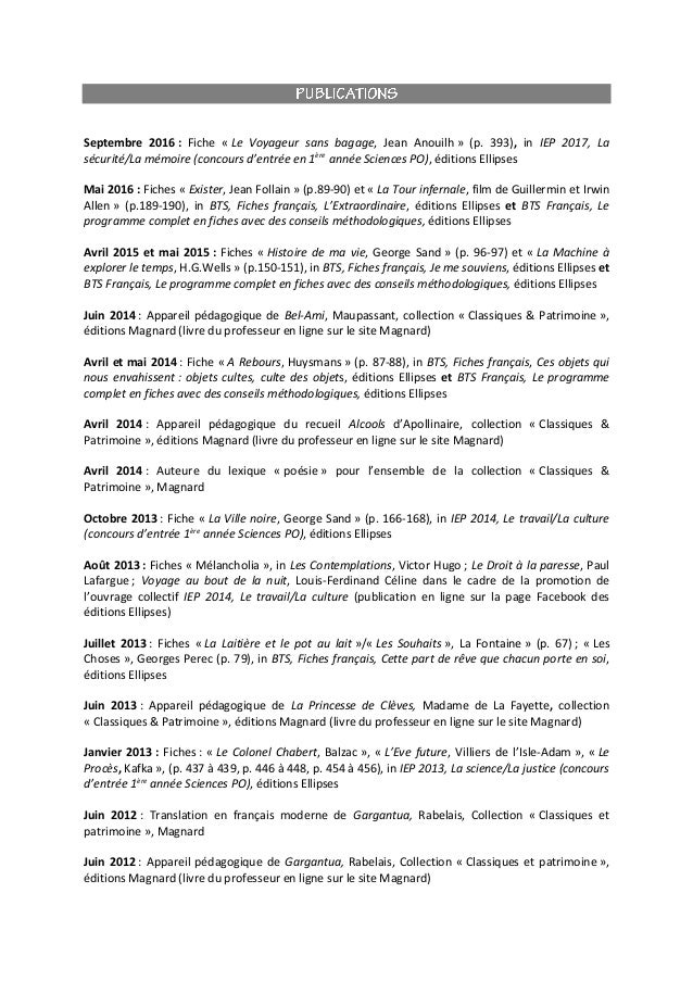 Septembre 2016 : Fiche « Le Voyageur sans bagage, Jean Anouilh » (p. 393), in IEP 2017, La sécurité/La mémoire (concours d...