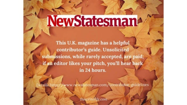 publish essays in magazines This collection focuses on online publishing opportunities for students of all ages—including literary magazines writing of younger students can be published.