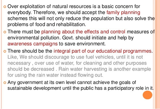 Protecting Our Natural Resources Essay - image 3