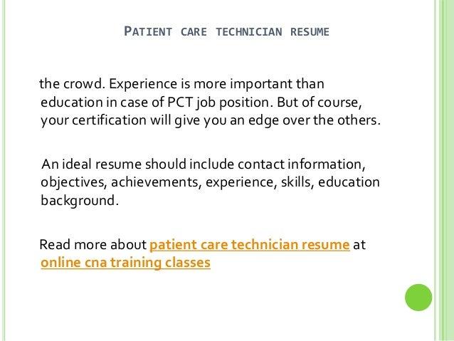 Pct Resume Pct Resume Pct Resume Happy Now Tk 2 Patient Care Technician  Resume