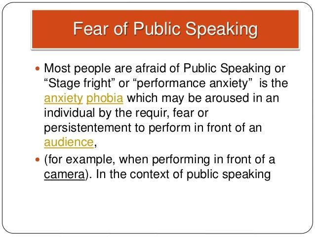 example of public communication