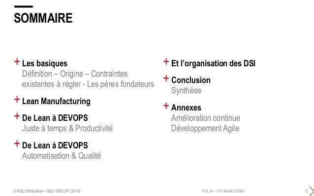 DEVOPS - La synthèse Slide 3