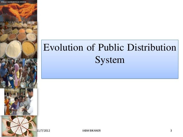 targeted public distribution system Abstraction it is suspected that the public distribution system in india has a howling black market in which store proprietors hike up monetary values mentioning.