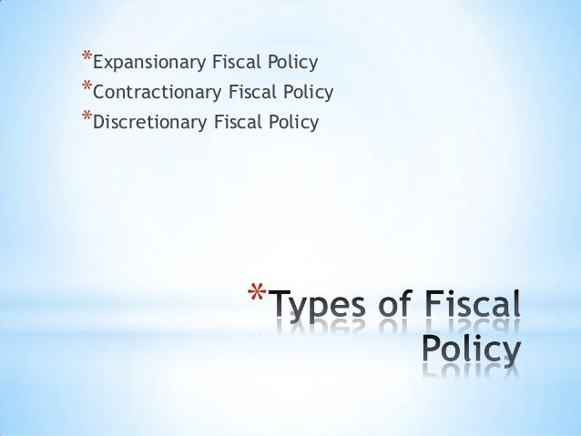 expansionary public policy Some of the major instruments of fiscal policy are as follows: a budget b taxation c public expenditure d public works e public debt  can be expansionary .