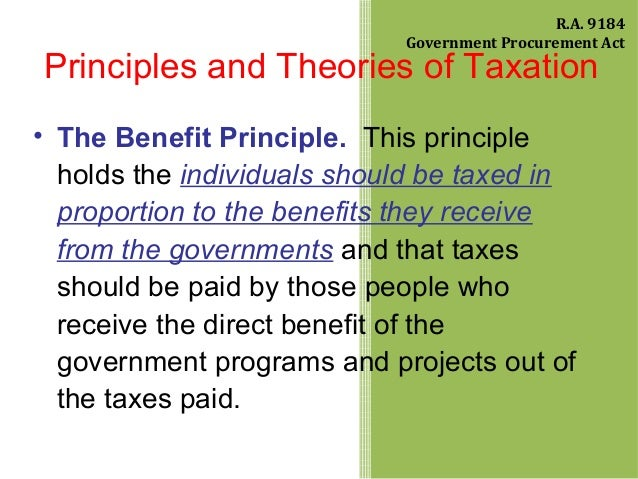 theories on taxation The personal income tax produces about five times as much revenue as the corporate income tax not all income tax taxed in the same way for example, taxpayers owning stock in a corporation.