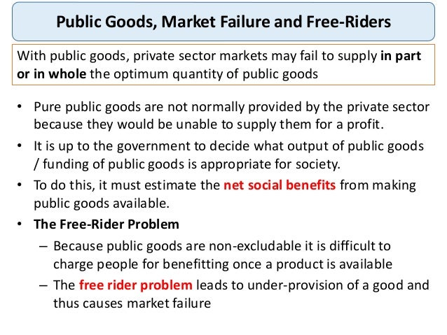 difference between public goods and private goods