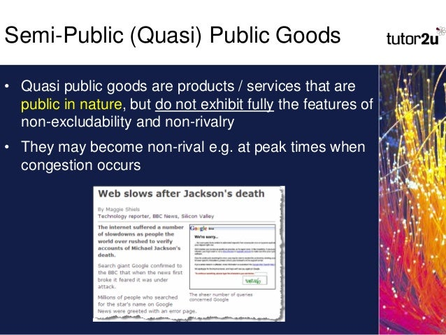 As Economics Public Goods