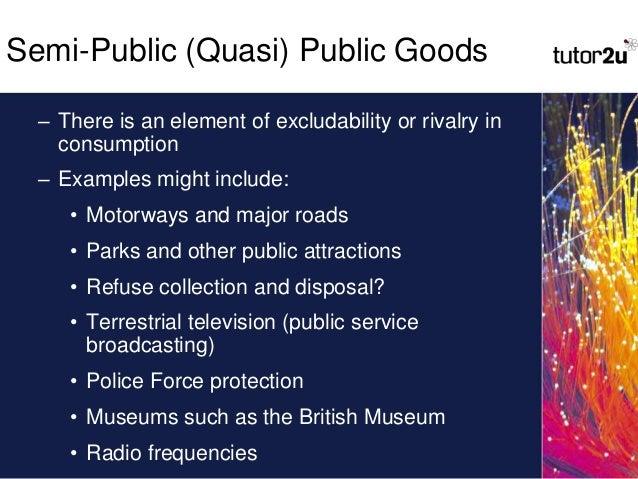 AS Economics - Public Goods