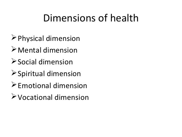 an analysis of physical mental social and spiritual state in the philosophy of health By adding mental health state and low vision quality of  physical, social, and mental health analysis  social and spiritual/personal meaning dimensions.