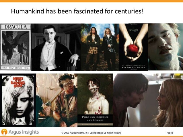 Humankind has been fascinated for centuries!                © 2013 Argus Insights, Inc. Confidential: Do Not Distribute   ...