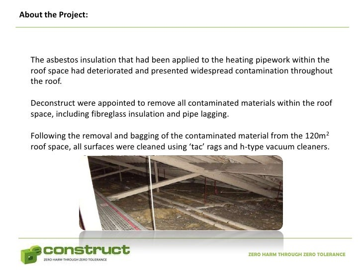 asbestos abatement notes Department of environmental quality / hazards and cleanup / asbestos deq recommends you hire a licensed asbestos abatement contractor to note: encapsulant.