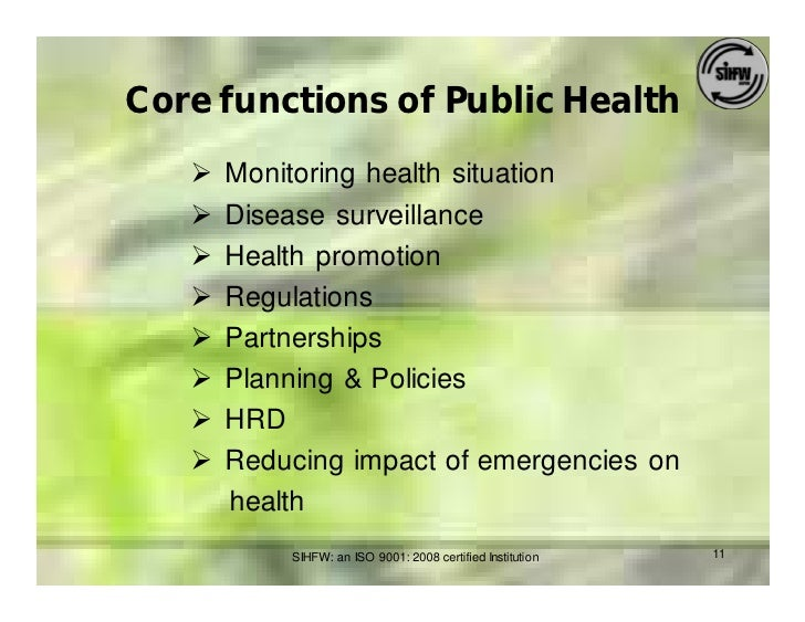 Public Health Challenges in India: Seizing the Opportunities