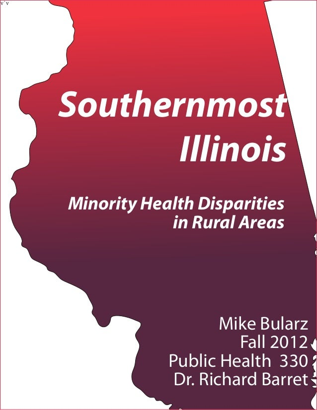 v`v      Southernmost             Illinois      Minority Health Disparities                  in Rural Areas               ...