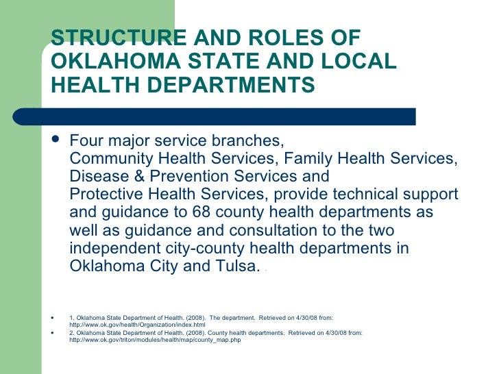 oklahoma state board of health