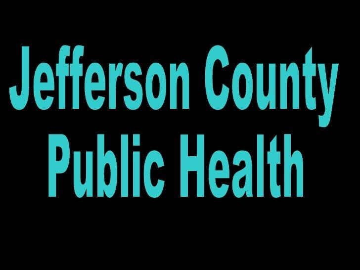 Jefferson County Public Health
