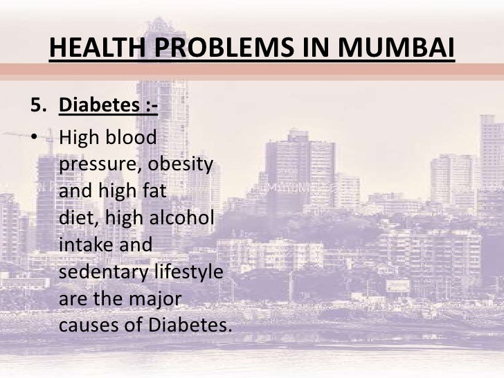 public health probs in mumbai 19