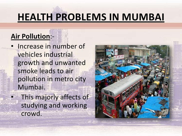 Health Care System In Mumbai People Of The Slums