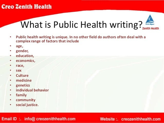 public health professionals essay Working on a public health statement of purpose we've got example essays to help you get started public health statement of purpose.