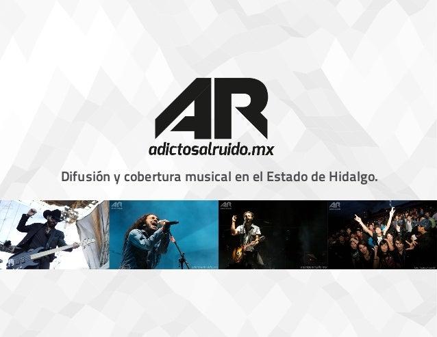 Difusión y cobertura musical en el Estado de Hidalgo.