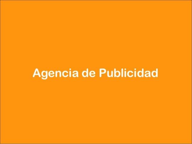 Agencia de Publicidad     Dirección