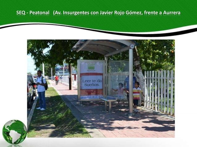 SEQ - Peatonal (Av. Insurgentes con Javier Rojo Gómez, frente a Aurrera