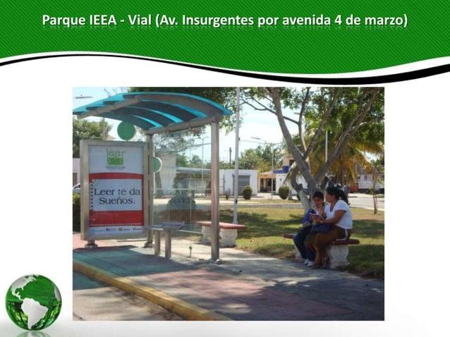 Parque IEEA - Vial (Av. Insurgentes por avenida 4 de marzo)