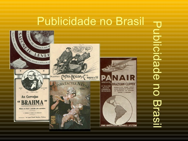 Publicidade no Brasil Publicidade no Brasil