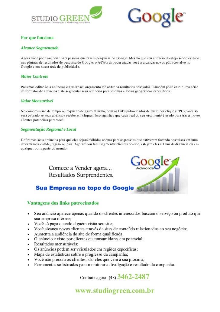 Por que funcionaAlcance SegmentadoAgora você pode anunciar para pessoas que fazem pesquisas no Google. Mesmo que seu anúnc...