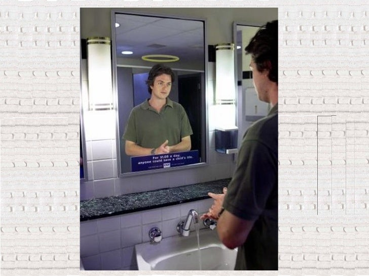 Publicidad en espejos Slide 2