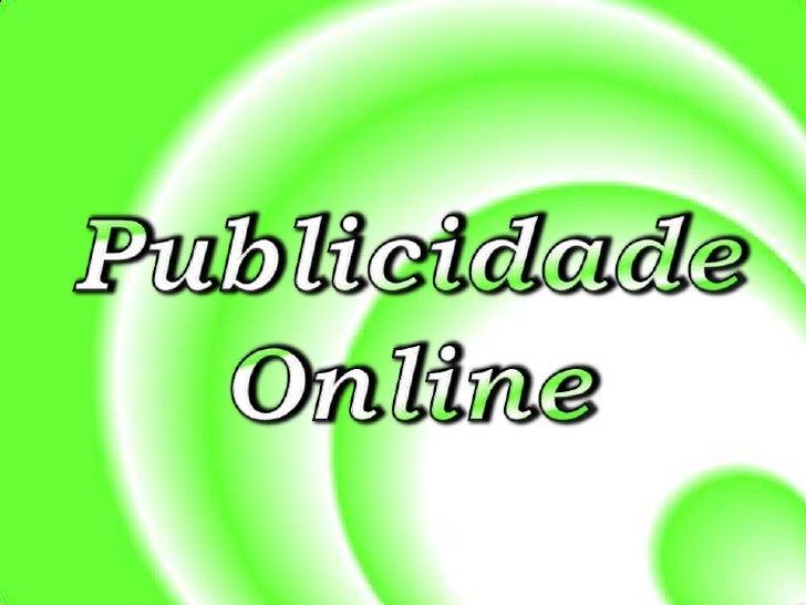 Publicidade Online<br />