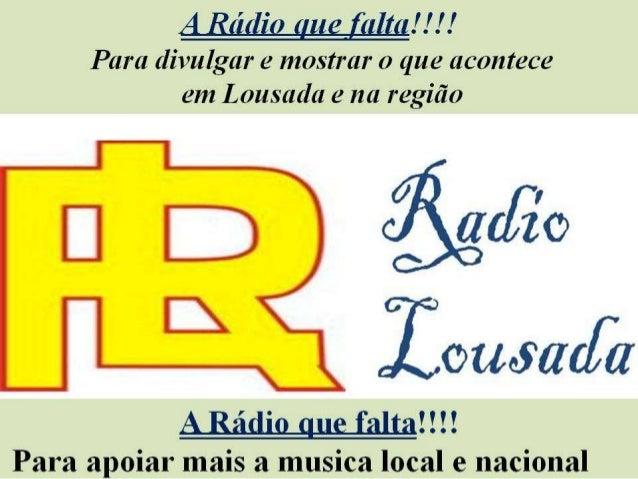 Apoios Rádio Lousada