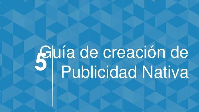 Guía de creación de Publicidad Nativa5