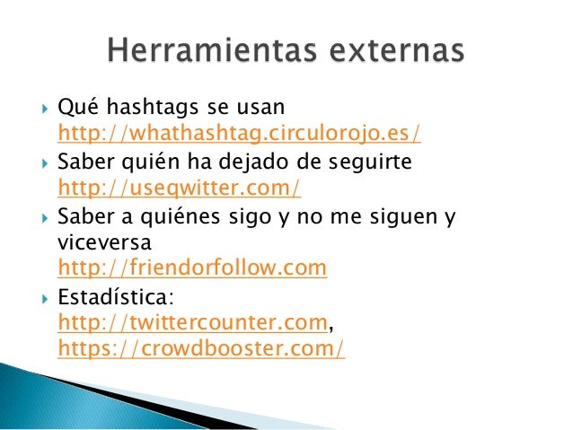    # y @ con medida. El uso de hashtags y las    menciones son muy útiles, te dan visibilidad,    pero no satures. No lle...